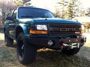 1996 Ford Bronco Ford Bronco XLT Sport Sport Utility 2-Door