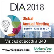 Visit MakroCare at DIA Global Annual Meeting on 25-27 June 2018